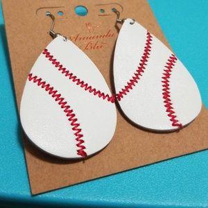 Jewelry - Amanda Blu baseball earings